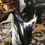 Re-dyed County Dressage Saddle